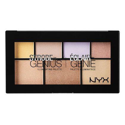 Glow on throughout the season with NYX Cosmetics 'Strobe of Genius Illuminating Palette',