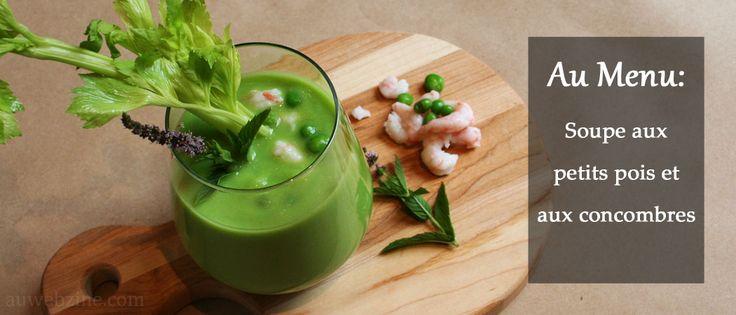 Excellente soupe pour les journées chaudes de l'été!