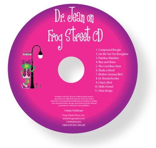 Dr Jean On Frog Street CD - Music - Frog Street Pre-K - Curriculum  | Frog Street Press