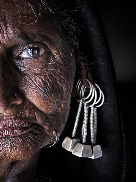 Rabari woman. India.