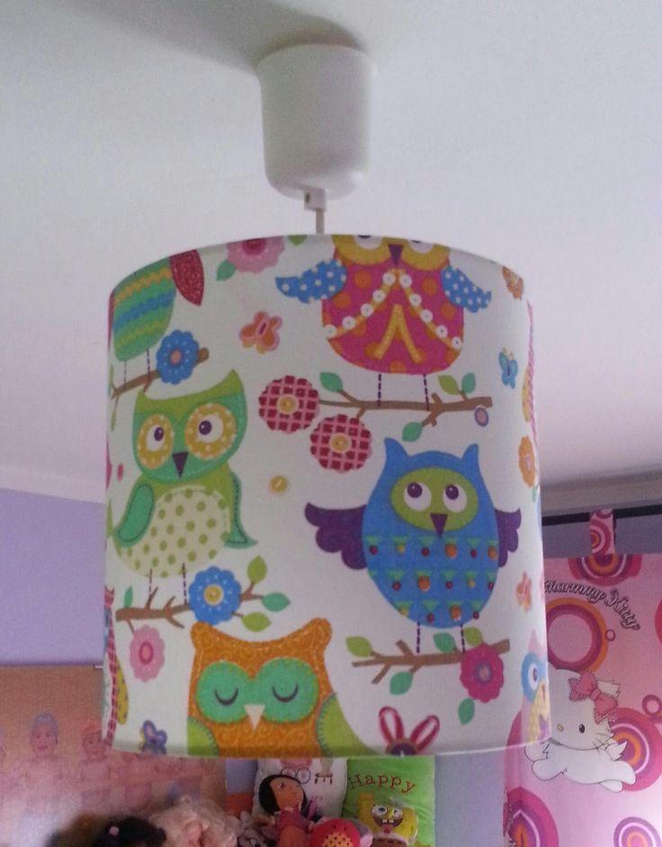 PANTALLAS ARTESANALES,Isabel: Lamparas y Pantallas artesanales , pantallas infantiles