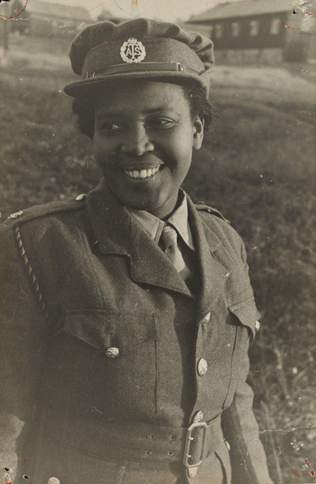 More than 100 women from the British West Indies joined the Auxiliary Territorial Service (womens' branch of the British Army in WWII) ~