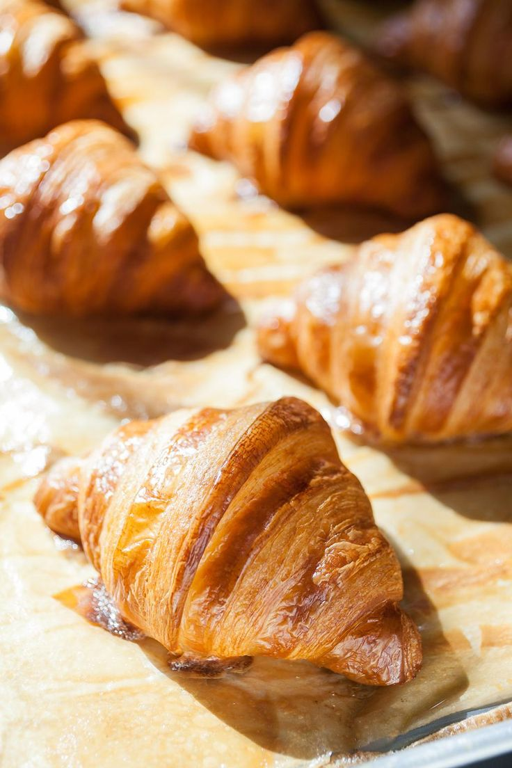 Fresh Baked Croissants from the Apple Pie Bakery Café at The Culinary Institute of America