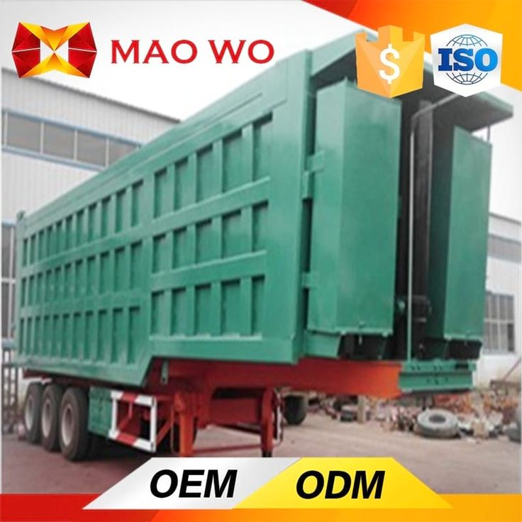 maowogroup.com MAOWO gooseneck dump trailer is your best choose, not matter what kinds of design of the hydraulic dump trailer.They are adopt famous brand components.