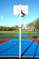 Cómo construir una maqueta de una cancha de baloncesto en miniatura