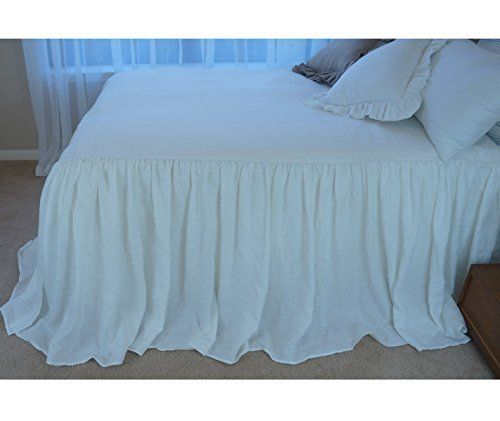 Amazon.com: White Bedspreads handmade in natural linen, White Bed Covers, White Bedding, White Bedspread, Linen Coverlet, Shabby Chic Bedding, Luxury Bedding, Queen Bedspread, King Bedspread, Twin Bedspread: Handmade
