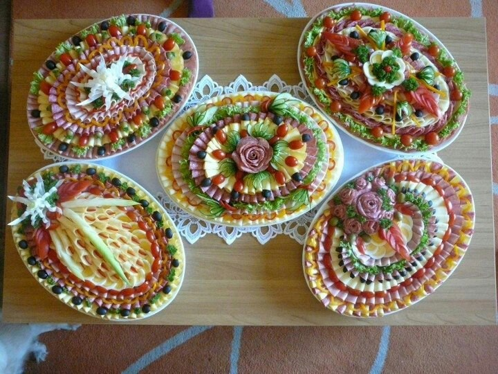 17 best images about pretty food decoration ideas on for Appetizer decoration