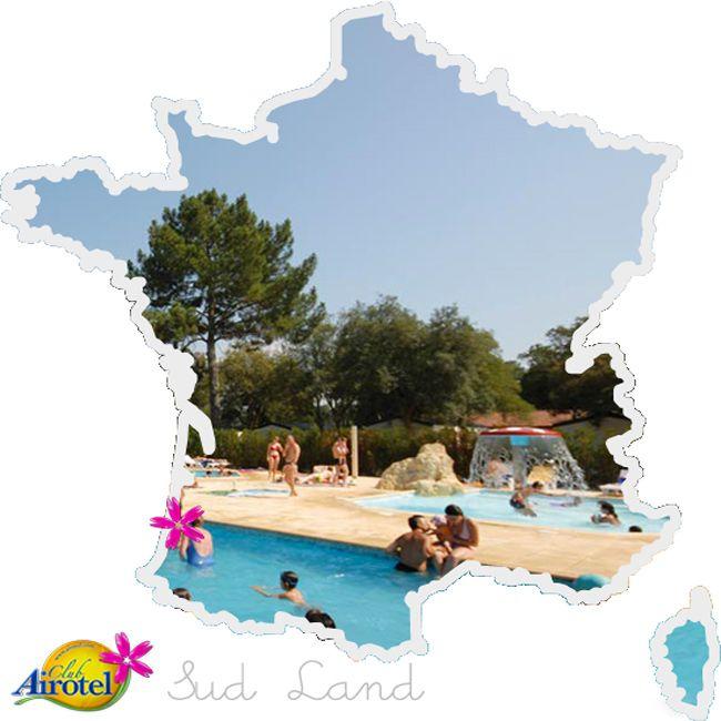 Camping Sud Land à Labenne Océan. Landes http://www.airotel.com/camping-landes-airotel-camping-sud-land.html