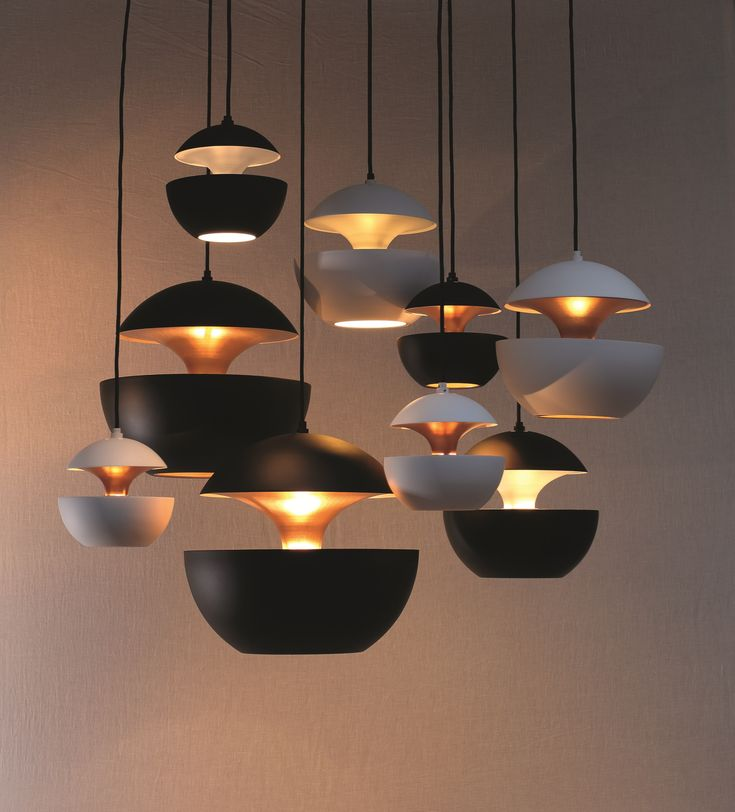 Aluminium pendant lamp HCS WH Ø250 Here Comes the Sun Collection by DCW éditions | design Bertrand Balas