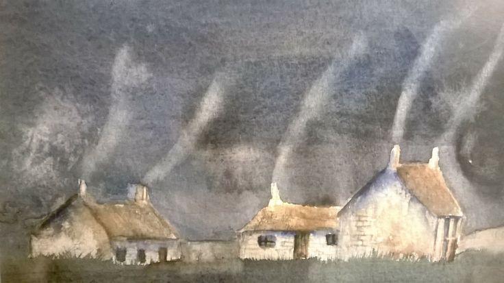 Welsh Cottages in a Timeless Mountain Village ~ Bythynnod Gymraeg mewn Pentref Mynydd diamser