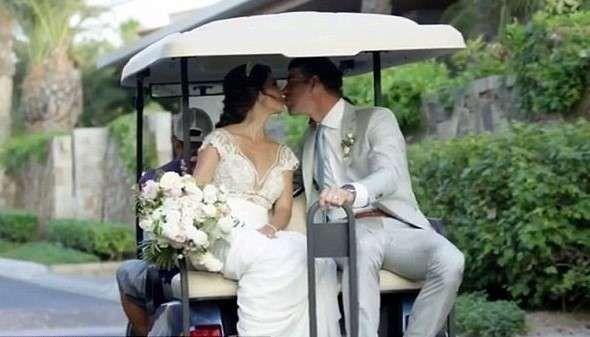 Michael Phelps wedding ceremony pictures