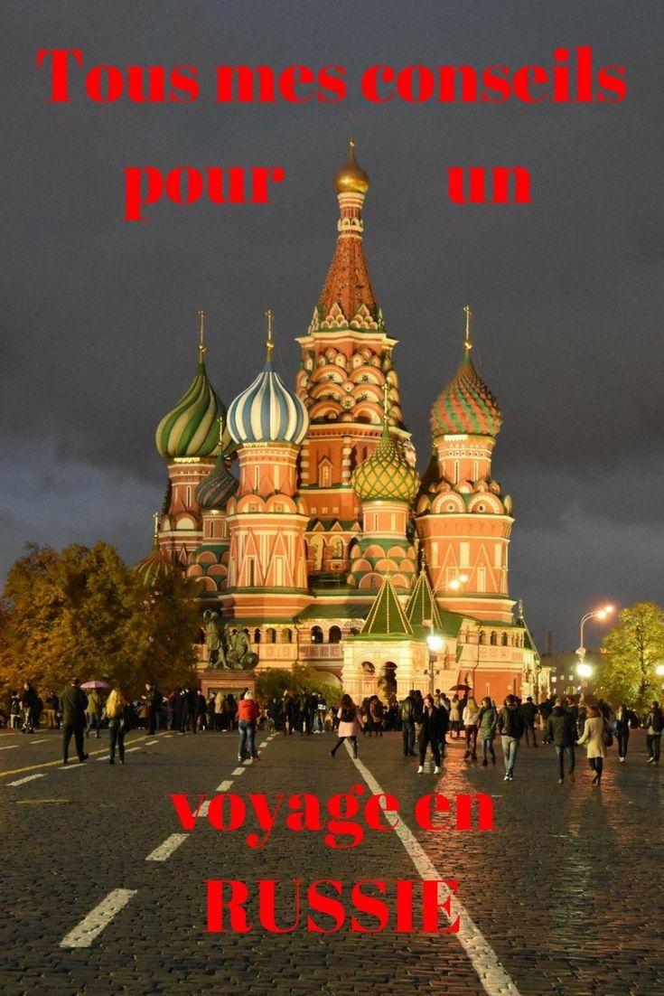 Toutes les infos pour préparer un voyage en Russie
