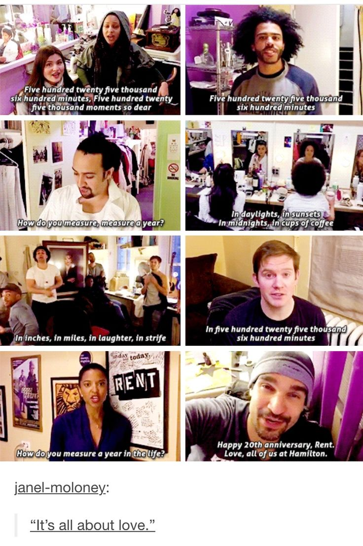 HAMILTON CAST SINGING RENT. MY LIFE IS COMPLETE.