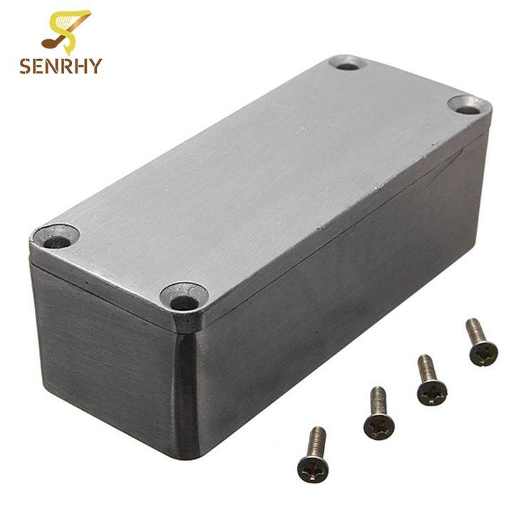 1590A 92x38x31mm Silver 32mm Thickness 4 Steel Screws Guitar Effects Aluminium Box Guitar Effects Pedal Guitar Accessories #Affiliate