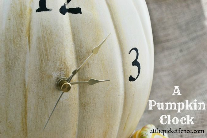 254 best images about fall 365 on pinterest thanksgiving for Clock mechanisms for craft projects