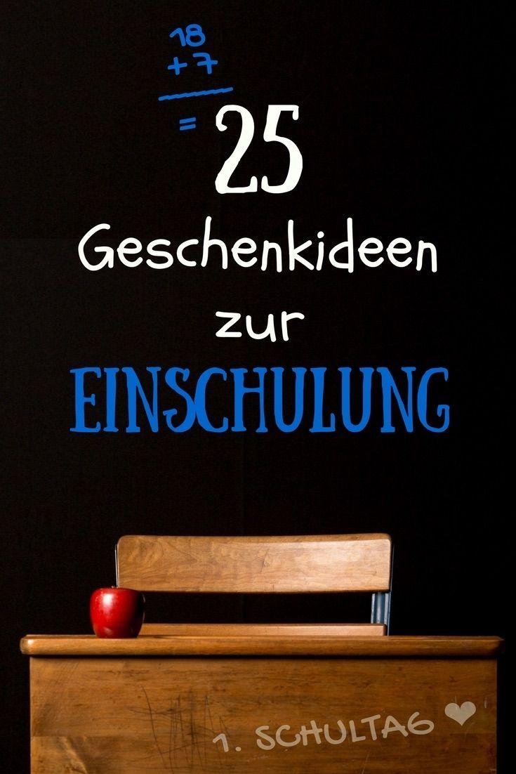 25 Geschenke zur Einschulung: praktisch & kindgerecht