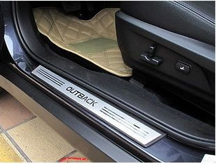 54.00$  Buy here  - Door sill scuff plate For SUBARU OUTBACK 2010 2011 4ps