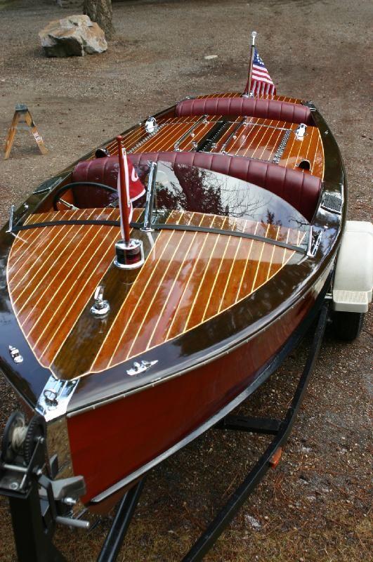 Motor Boats Italian Wooden Motor Boats