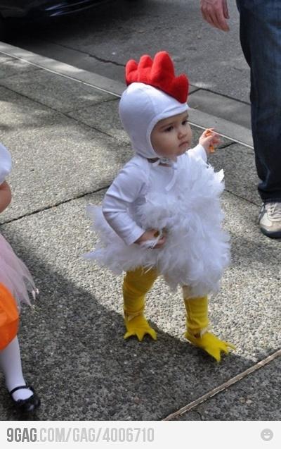 Love this chicken costume