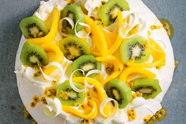 """I love Australia Day because that's the day when having a second serving of the pav is actually the patriotic thing to do. And hey, it's mostly air and fruit anyway, isn't it?"" - Matt Preston"