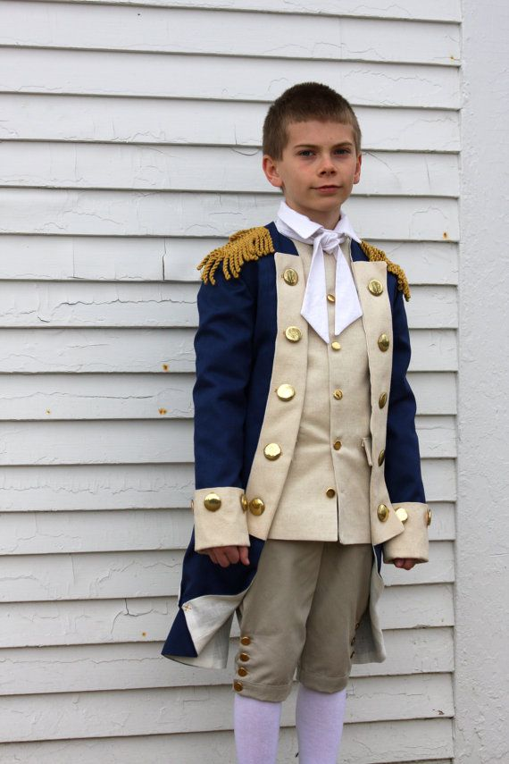 George Washington Costume - READY TO SHIP - Choose Your Size - General Washington Costume - Revolutionary War