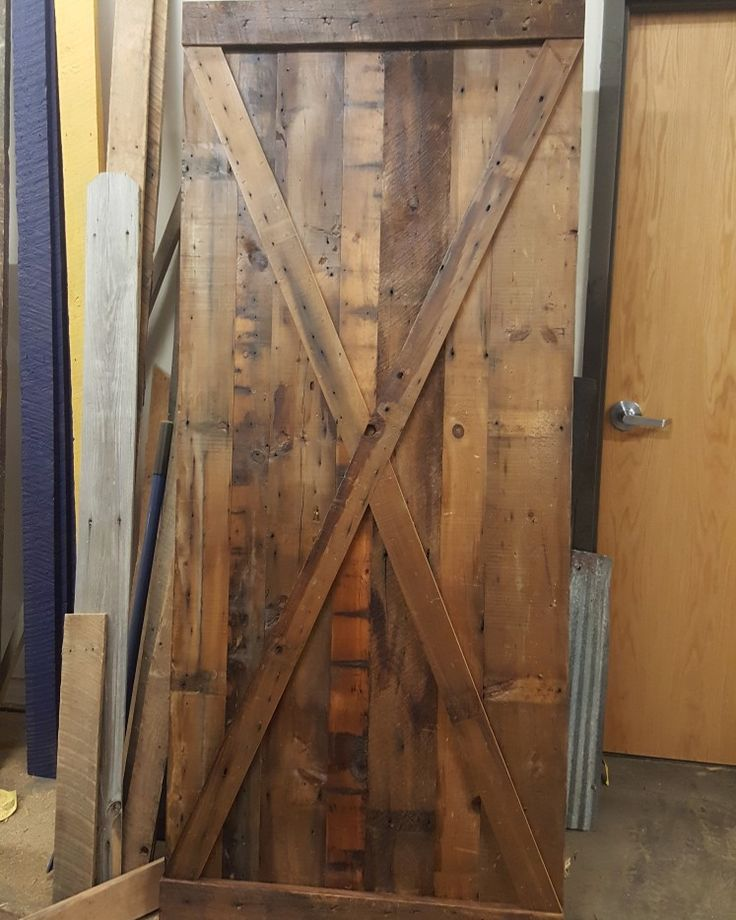 BARN WOOD! Here is a custom door we just finished for a customer! Come - 2060 Best Images About Barn Wood On Pinterest Mantels, Mantles