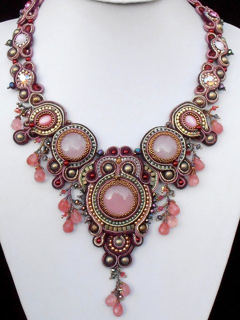 @Francene Mickelsen Mickelsen Perel:  #Necklace! Once Upon a Time- Bead Dreams Finalist 2012 | Flickr - Photo Sharing!