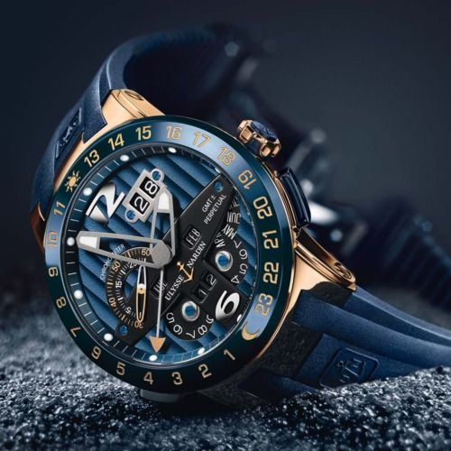 Ulysse Nardin Blue Toro Perpetual Calendar watch