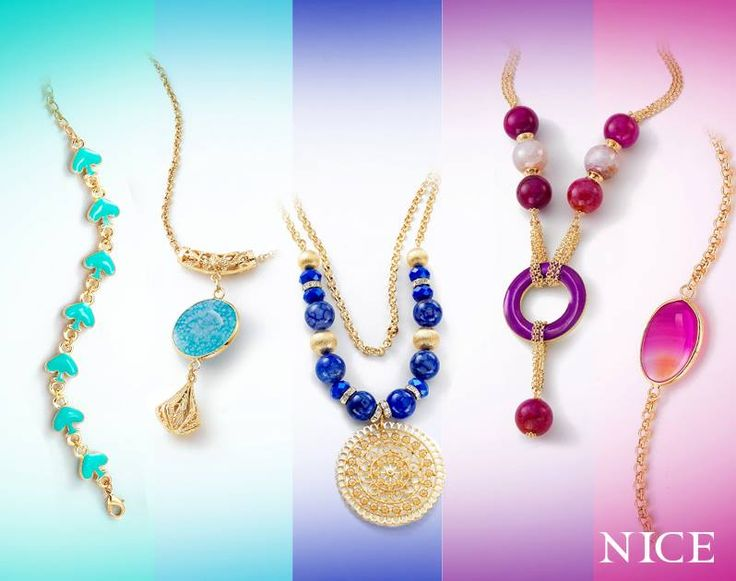 Tu color favorito, lo encuentras en NICE. #joyeríaNICE #NICE
