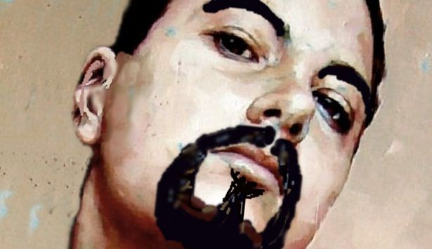 Marko Sapiołko autoportret digital art