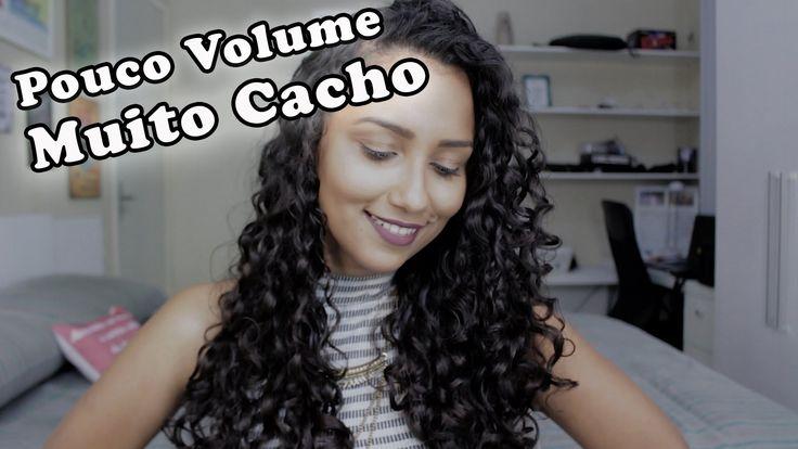CACHOS SUPER DEFINIDOS E SEM VOLUME
