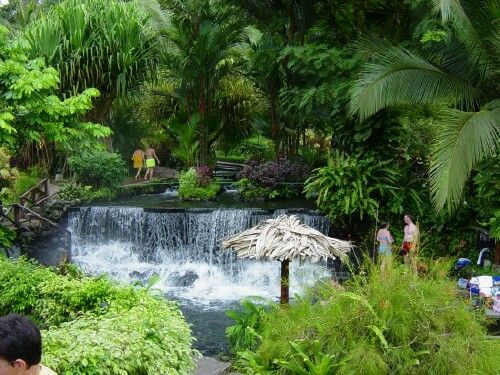 Tabacon Resort and Hot Springs in Costa Rica.