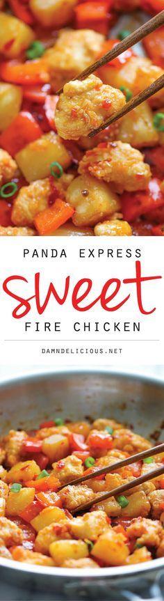 Panda Express Sweet Fire Chicken Copycat