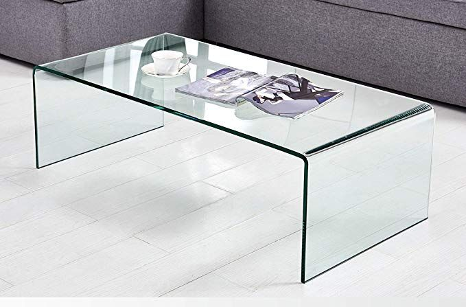 Black Friday Sales 2018 Coffee Table Thick Tempered Glass Living