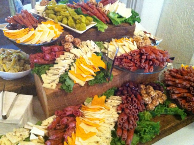 Stunning Heavy Hors D Oeuvres Wedding Reception Pictures - Styles ...