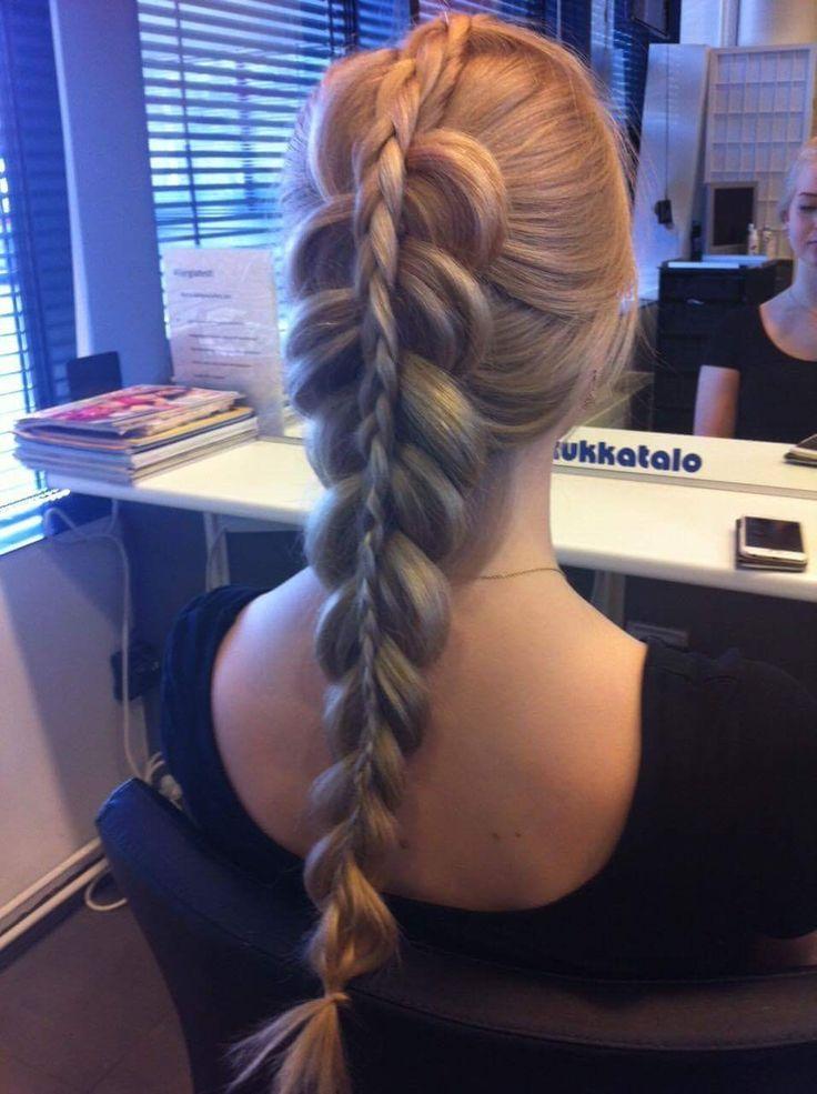 #braids #tukkatalo #party # longhair #hairstyle