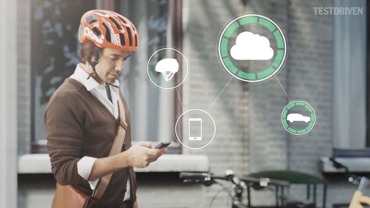 Volvo Figures Out Where Smart Bike Helmet Wearers Are