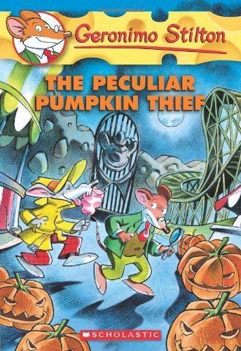 Bestseller Books Online The Peculiar Pumpkin Thief (Geronimo Stilton, No. 42) Geronimo Stilton $6.99  - http://www.ebooknetworking.net/books_detail-054510372X.html
