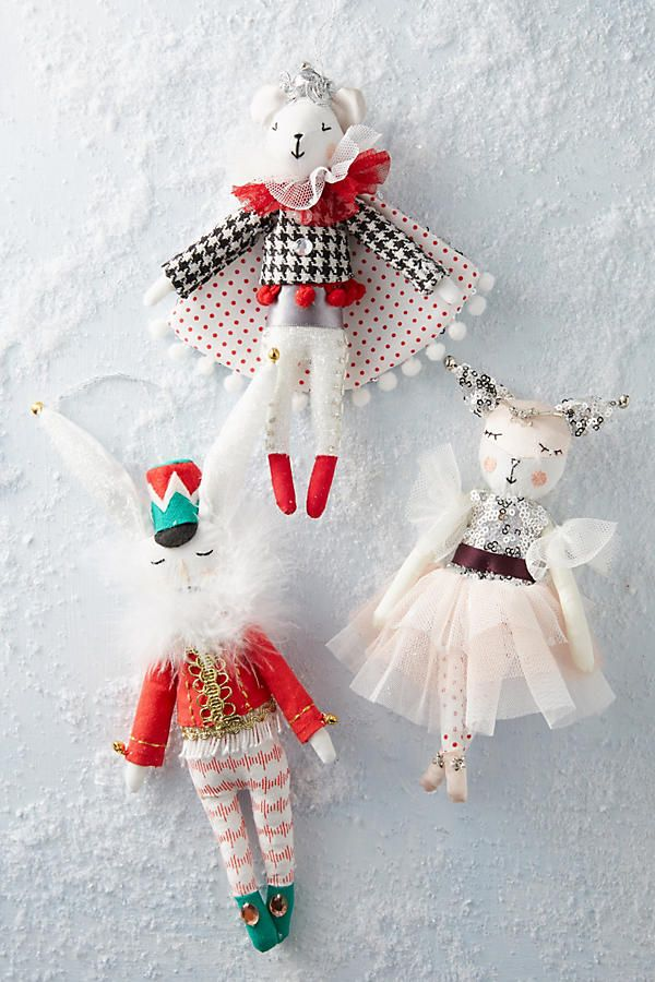 Nutcracker Character Ornament