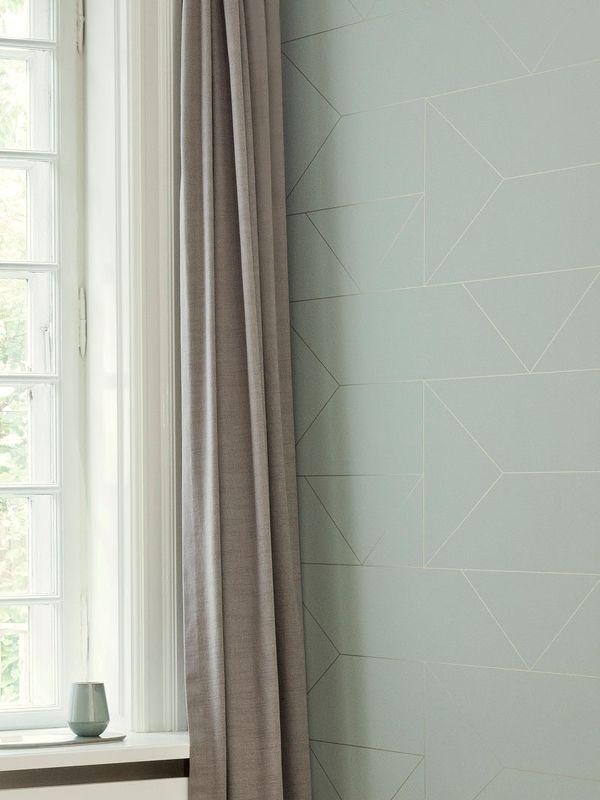 Lines Wallpaper - Mint 2
