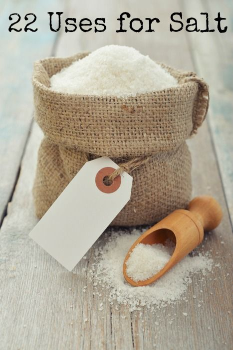 22 Uses for Salt That Could Save You #Money!!