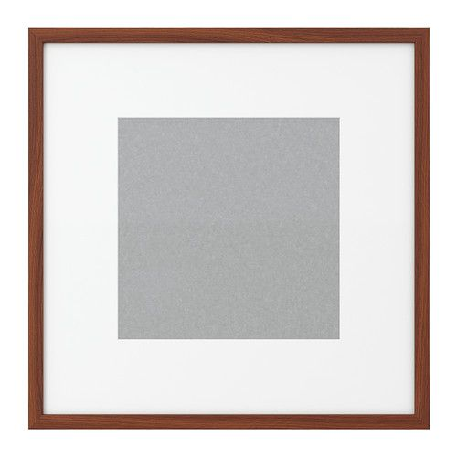 40 best square picture frames images on pinterest home for Ikea ribba plank