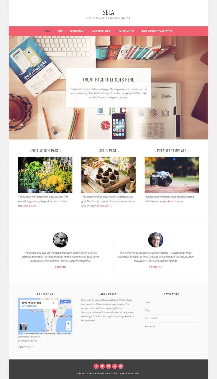 Sela Theme ‹ chemicalegypt — WordPress.com