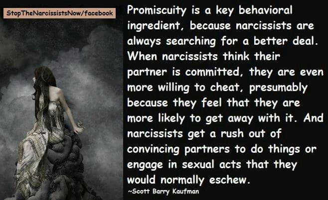 Narcissists and Promiscuity