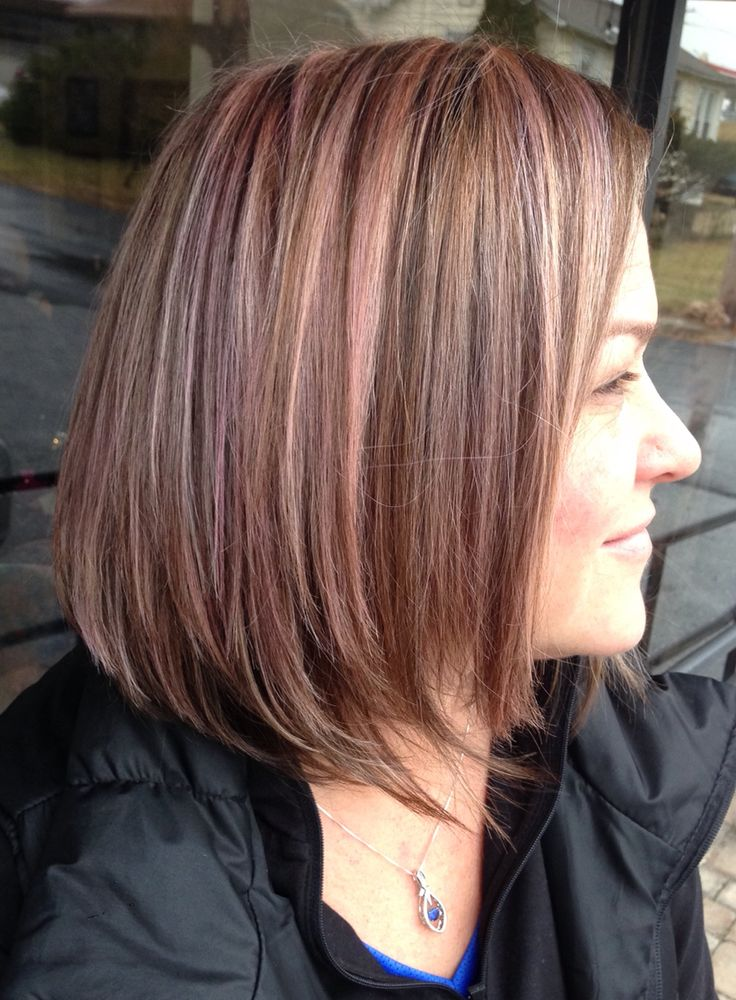 Pink, peach, and lavender highlights with Keune Color Craving!! #hairbyemcosgrove