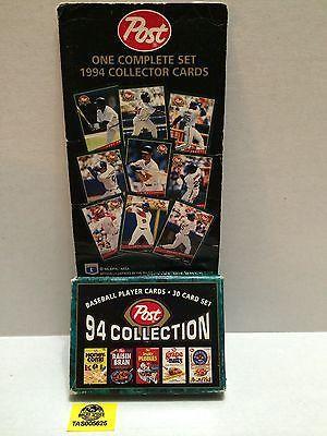 (TAS005625) - Post 1994 Collector Cards - 30 Card Set - Baseball Player Cards