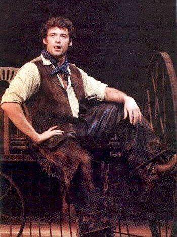 Hugh Jackman in Oklahoma as Curly