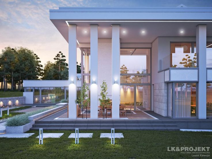 Projekty domów LK Projekt LK&1230 zdjęcie wiodące