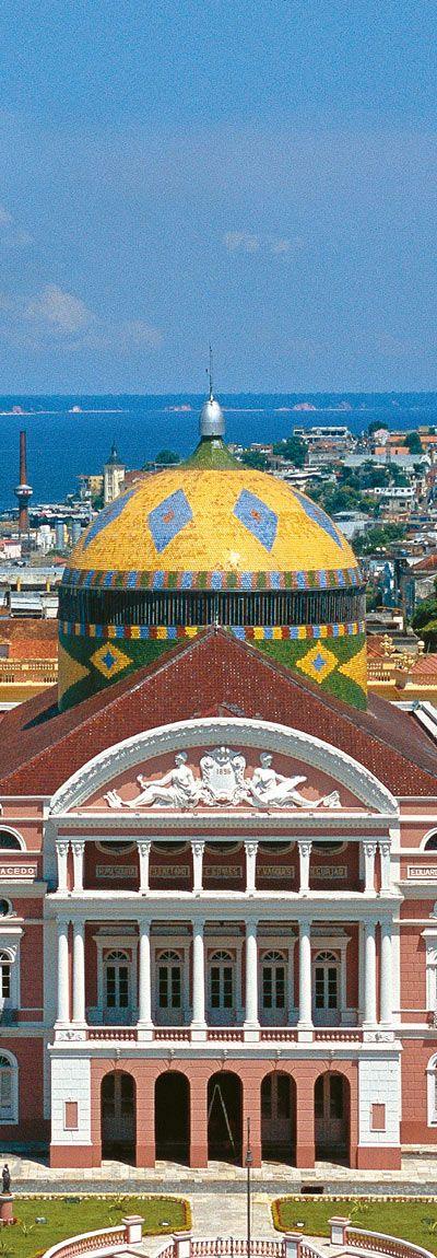Amazonas Theatre in Manaus, BRAZIL