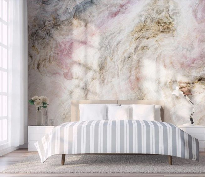 Colorful Style Marble Wallpaper Peel And Stick Removable Etsy Blue Marble Wallpaper Marble Wallpaper Living Room Wall